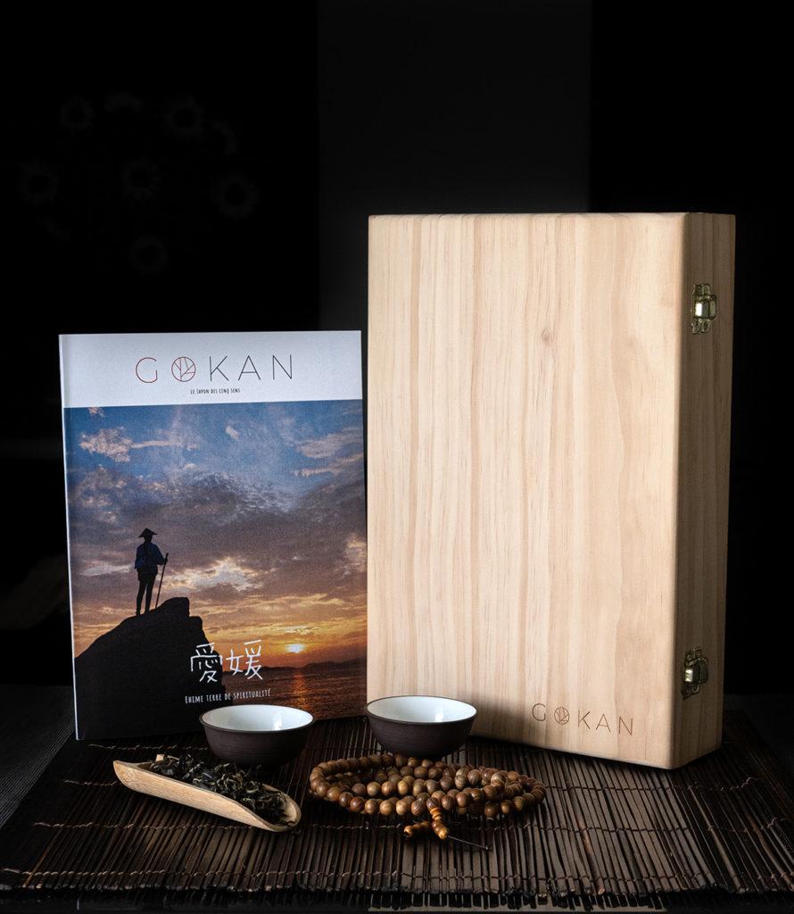 Prototype GOKAN Box Ehime dédié au thé et pélerinage